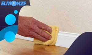 كيفية تنظيف الجدار الابيض