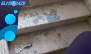 طريقة تنظيف البلاط من الاسمنت