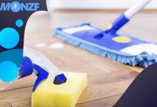 كيفية تنظيف الباركية