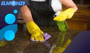 طريقة تنظيف وتلميع الجرانيت