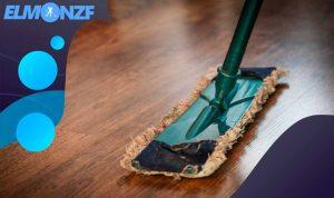 طريقة تنظيف الخشب البني