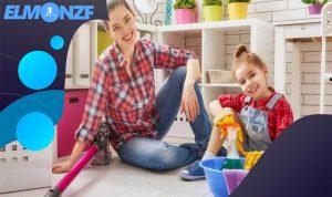 طريقة تنظيف المنزل بسهولة