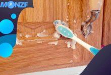 طريقة تنظيف المطبخ الخشب من الدهون